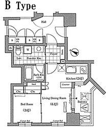 エルトストコウベ[10階]の間取り