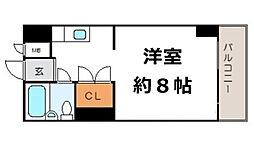 グレイスフル中崎II[7階]の間取り