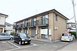 東京都昭島市田中町1丁目の賃貸アパートの外観