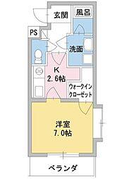 BEST HOUSE 華[2階]の間取り