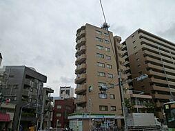 東京都台東区千束1丁目の賃貸マンションの外観