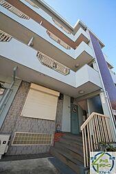 兵庫県明石市和坂稲荷町の賃貸マンションの外観