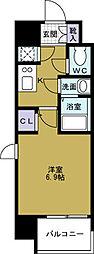 ファーストレジデンス大阪BAY SIDE[9階]の間取り