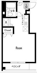 ハイツイシハラ[2階号室]の間取り