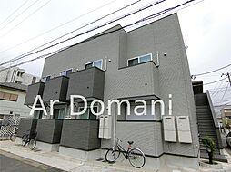 千葉県松戸市北松戸1丁目の賃貸アパートの外観