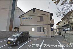 池田ハイツB[1階]の外観