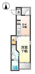 K2ハウス[3階]の間取り