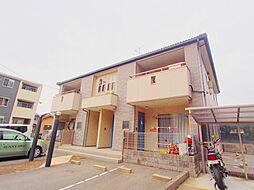 広島県安芸郡海田町西浜の賃貸アパートの外観