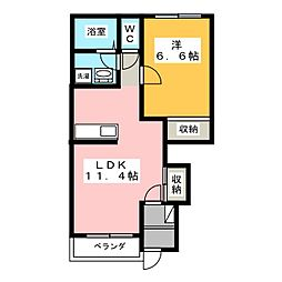 つぐみ[1階]の間取り