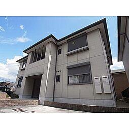 奈良県香芝市高山台1丁目の賃貸アパートの外観