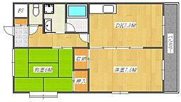 桜代マンション[3階]の間取り