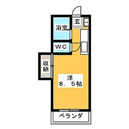 セイワグリーンハイツ[2階]の間取り