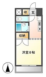 オークヒルズ円庄Ⅱ[1階]の間取り