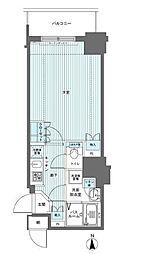 フェニックス西参道タワー[8階]の間取り