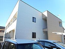 埼玉県東松山市神明町2丁目の賃貸アパートの外観