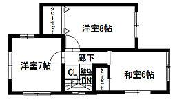 [一戸建] 奈良県桜井市大字河西 の賃貸【/】の間取り