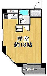 ヴァンコート三軒家東[5階]の間取り