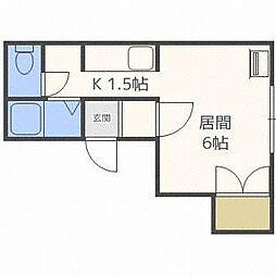ゾンネブルーメII[2階]の間取り