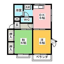 トラッドI・T II[2階]の間取り