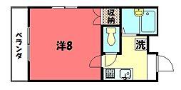 マタム[4階]の間取り