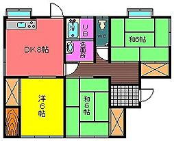 [一戸建] 宮崎県都城市祝吉町 の賃貸【宮崎県 / 都城市】の間取り