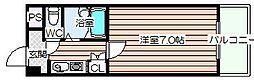 シャルマンJS[3階]の間取り