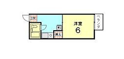 メゾン大戸[105号室]の間取り
