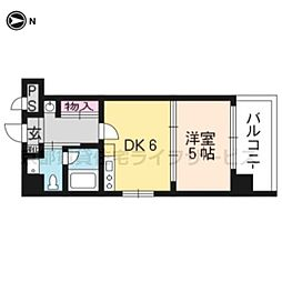 G−stage京都油小路[1階]の間取り