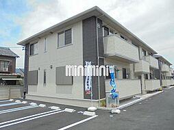愛知県豊橋市弥生町字松原の賃貸アパートの外観