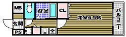 REINA錦織[3階]の間取り