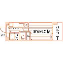 southerlies泉崎[9階]の間取り