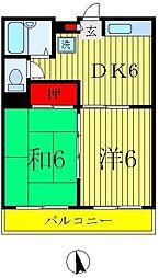 新宿エスポワール[1階]の間取り