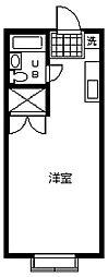 愛知県安城市美園町東菰神の賃貸アパートの間取り