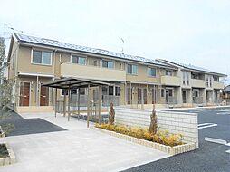 栃木県栃木市片柳町2丁目の賃貸アパートの外観