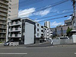 北海道札幌市厚別区大谷地東7丁目の賃貸マンションの外観