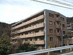 兵庫県芦屋市奥山の賃貸マンションの外観