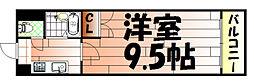 No.35 サーファーズプロジェクト2100小倉駅[306号室]の間取り
