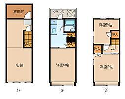広島県呉市広本町2丁目の賃貸アパートの間取り