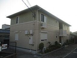 大阪府松原市北新町2丁目の賃貸アパートの外観