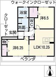リス メゾン[1階]の間取り