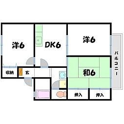 ボナール本郷[2階]の間取り