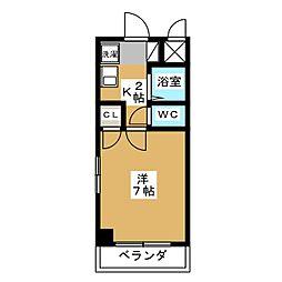 ドルフ亀島IV[2階]の間取り