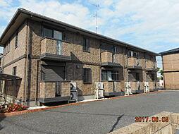 埼玉県深谷市東方町3の賃貸アパートの外観