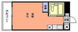 ヨウコースクウェア中浦和[1階]の間取り