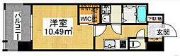 ウェルブライト博多[9階]の間取り