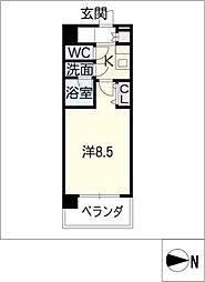 コンフォリア新栄[10階]の間取り