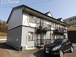 三重県松阪市桂瀬町の賃貸アパートの外観