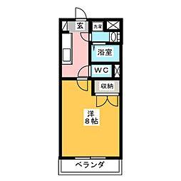 NAVONA[4階]の間取り