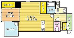 THE HILLS KOKURA (ザ・ヒルズコクラ)[8階]の間取り