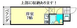 M&M津田沼[104号室]の間取り